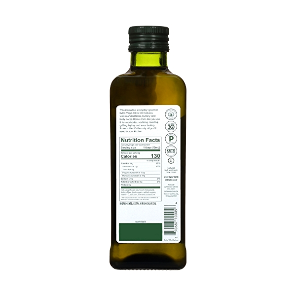 Global Blend Extra Virgin Olive Oil (500ml / 16.9oz) 2
