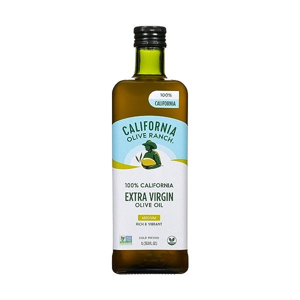 100% California Extra Virgin Olive Oil (1L / 33.8oz) 1