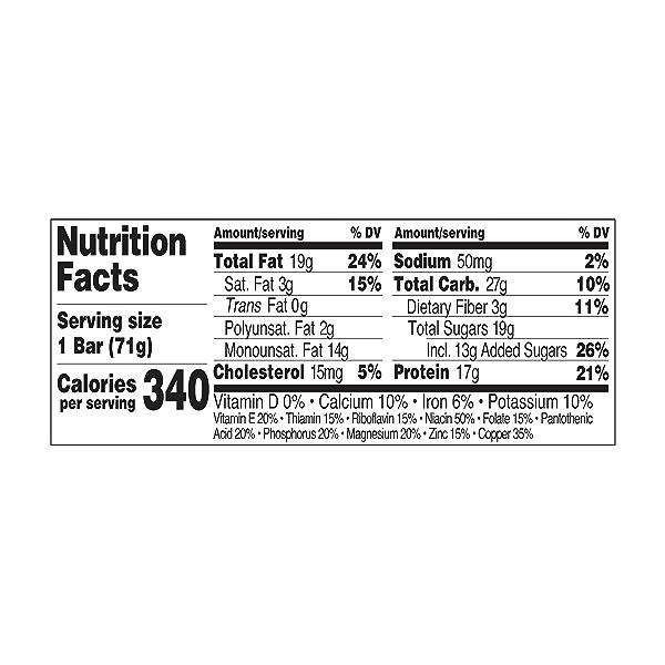 Original Refrigerated Protein Bar, Peanut Butter, 2.5 oz 3