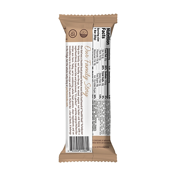 Original Refrigerated Protein Bar, Dark Chocolate Chip Peanut Butter, 2.3 oz 2