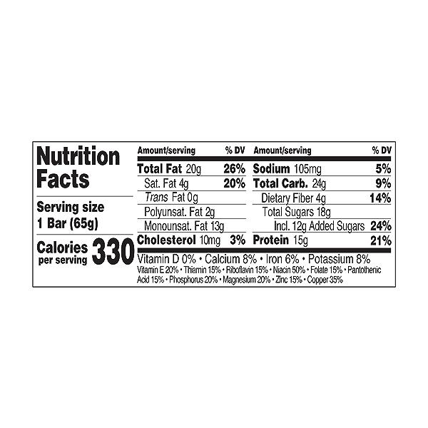 Original Refrigerated Protein Bar, Dark Chocolate Chip Peanut Butter, 2.3 oz 3