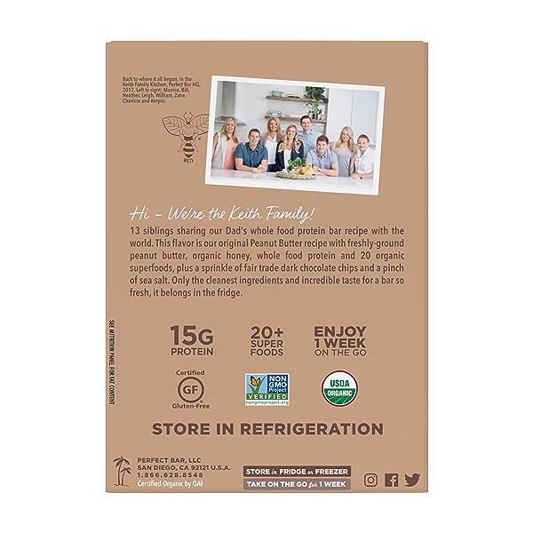 Original Refrigerated Protein Bar, Dark Chocolate Chip Peanut Butter, 9.2 oz 2