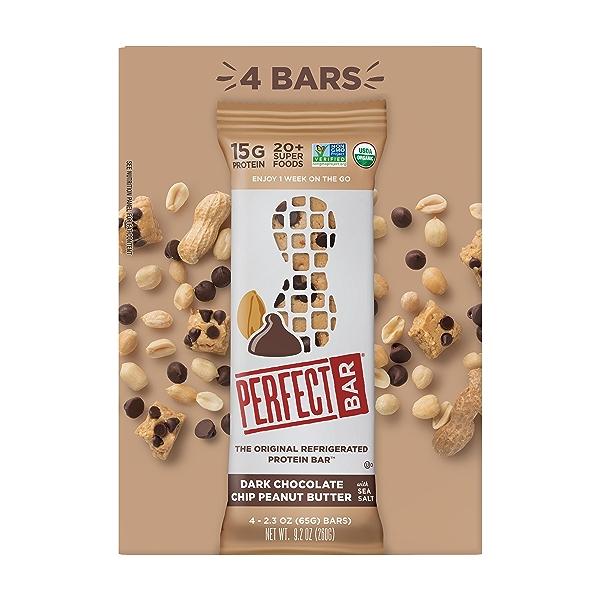 Original Refrigerated Protein Bar, Dark Chocolate Chip Peanut Butter, 9.2 oz 1