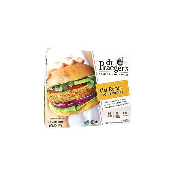 California Veggie Burgers, 10 oz 1