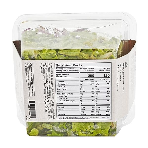 Organic Rainbow Salad, 7.6 oz 3