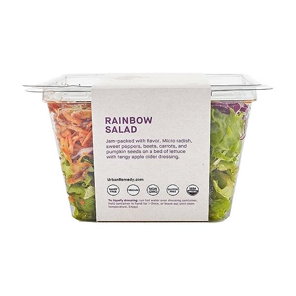 Organic Rainbow Salad, 7.6 oz 4
