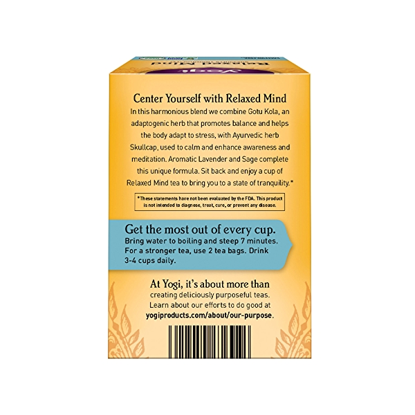 Relaxed Mind, 1.12 oz 3