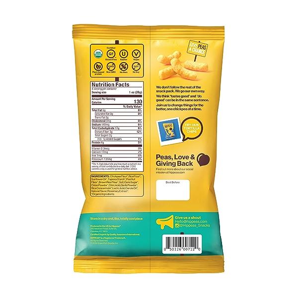 Vegan White Cheddar Puffs, 4 oz 2