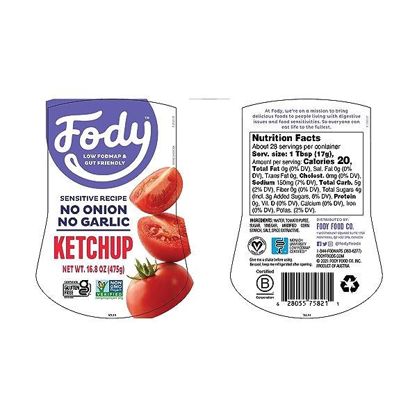 KETCHUP Tomato, 16.8 oz 2