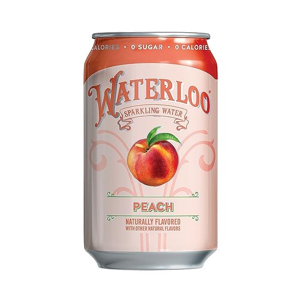 Peach Sparkling Water, 144 fl oz 2