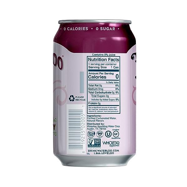 Black Cherry Sparkling Water, 144 fl oz 3