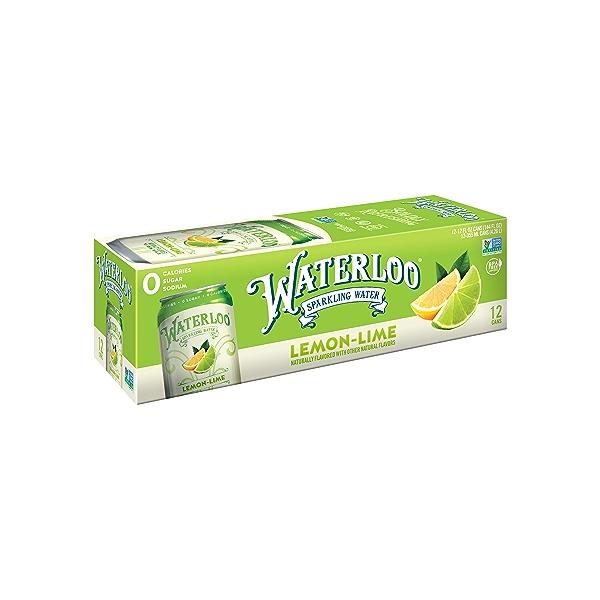 Lemon Lime Sparkling Water, 144 fl oz 1