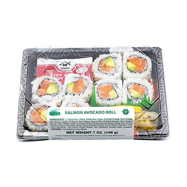 Salmon Avocado Roll, 7 oz 6