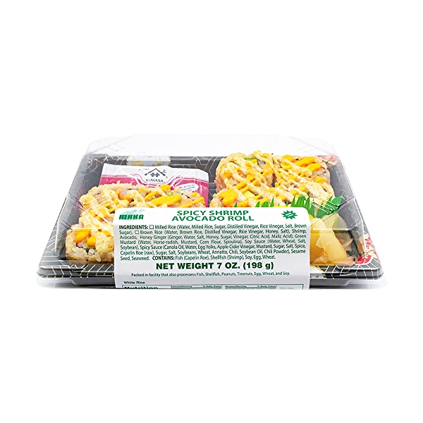 Spicy Shrimp Avocado Roll, 7 oz 6
