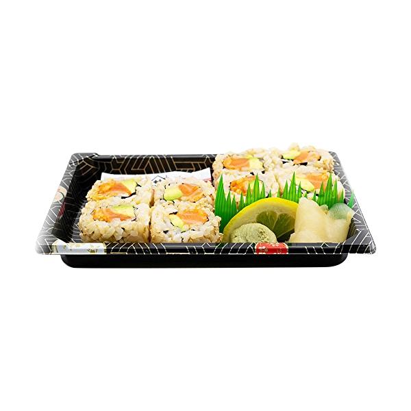 Spicy Salmon Avocado Roll, 7 oz 2