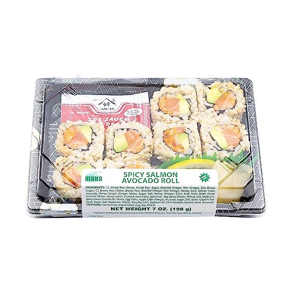 Spicy Salmon Avocado Roll, 7 oz 7