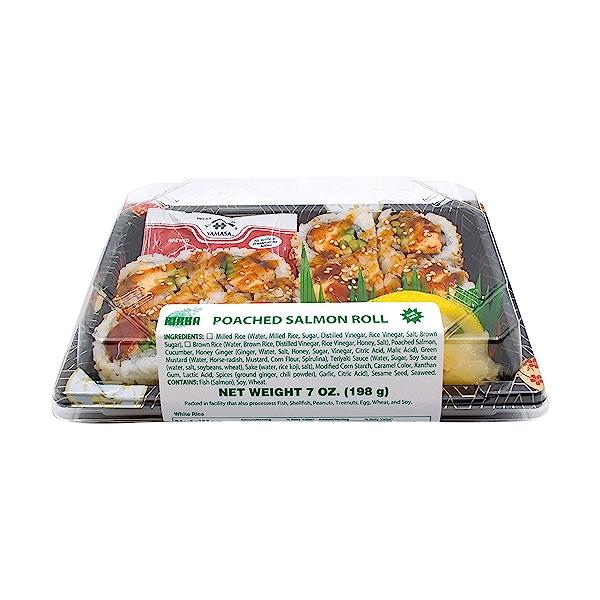 Poached Salmon Roll, 7 oz 6
