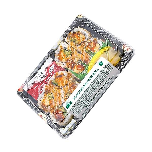 Poached Salmon Roll, 7 oz 8