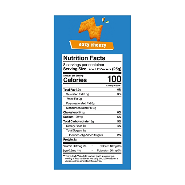 Easy Cheesy Crackerz, 7.04 ounce 3