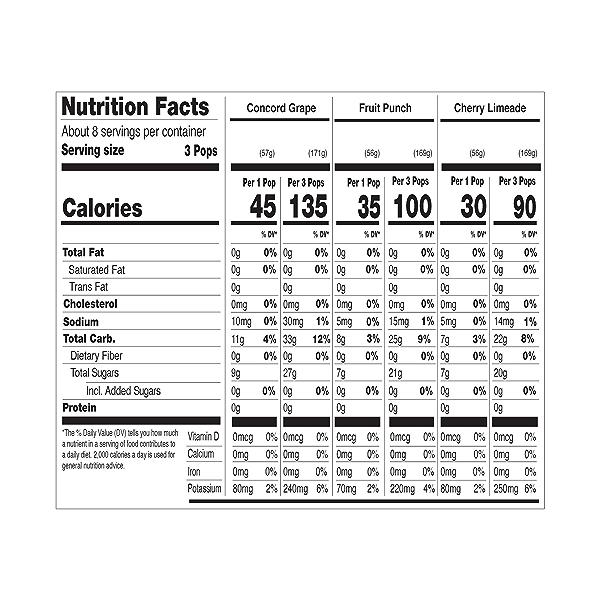 Organic Freezer Pops Variety Pack, 42.96 fl oz 3