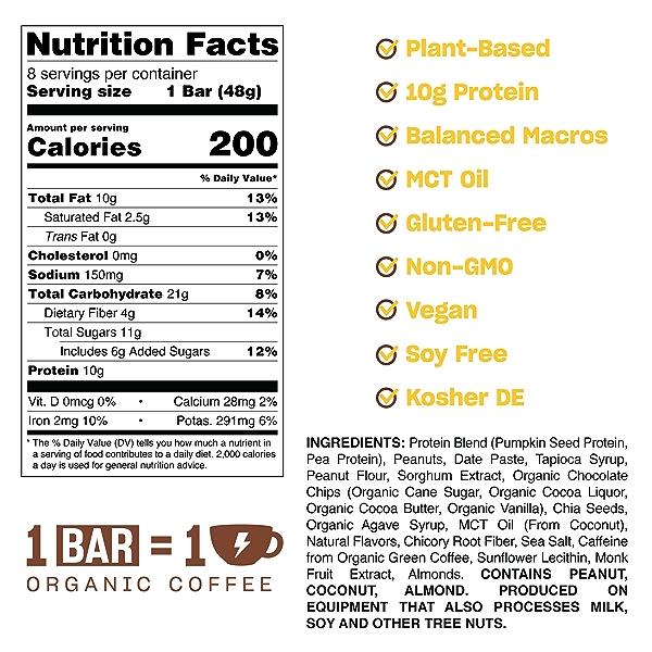 Peanut Butter Dark Chocolate, 1.69 oz 2