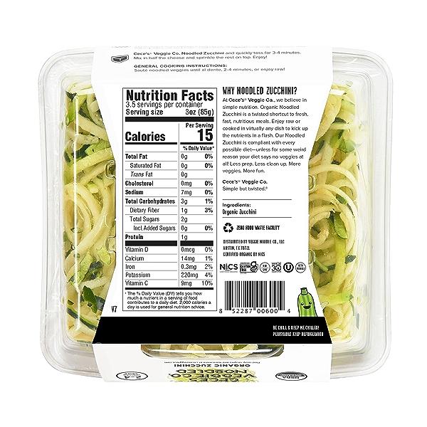 Organic Zucchini, 10.7 oz 2