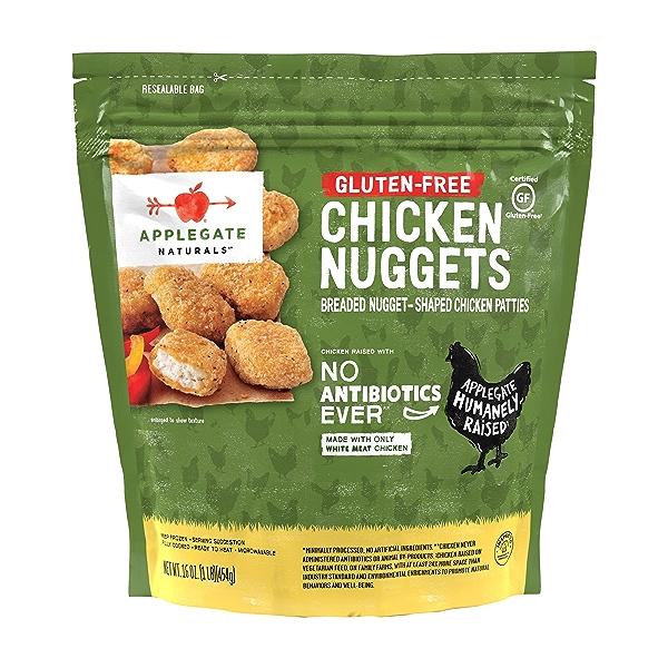 Natural Gluten-Free Chicken Nuggets Family Size, 16oz (Frozen) 1