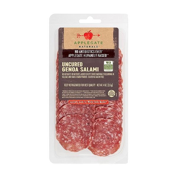 Natural Uncured Genoa Salami, 4oz 1