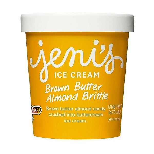 Brown Butter Almond Brittle, 1 pint 1