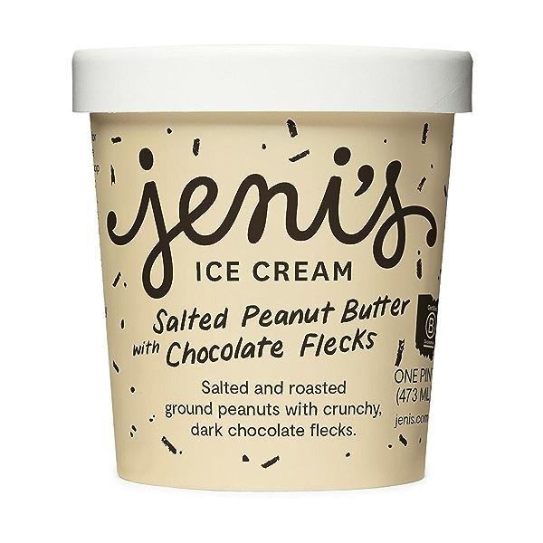 Salted Peanut Butter With Chocolate Flecks Ice Cream, 1 pint 1