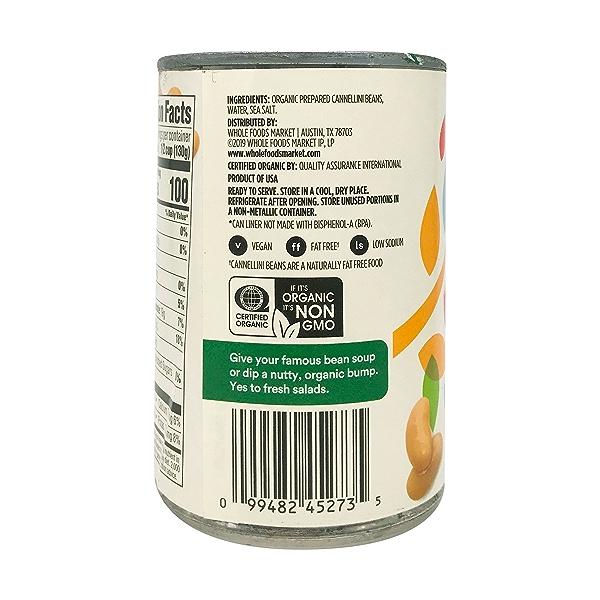 Organic Cannellini Beans, 15.5 oz 6
