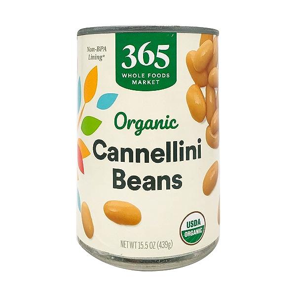 Organic Cannellini Beans, 15.5 oz 1