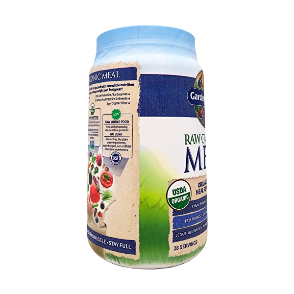 Organic Raw Meal Vanilla, 34.2 oz 8