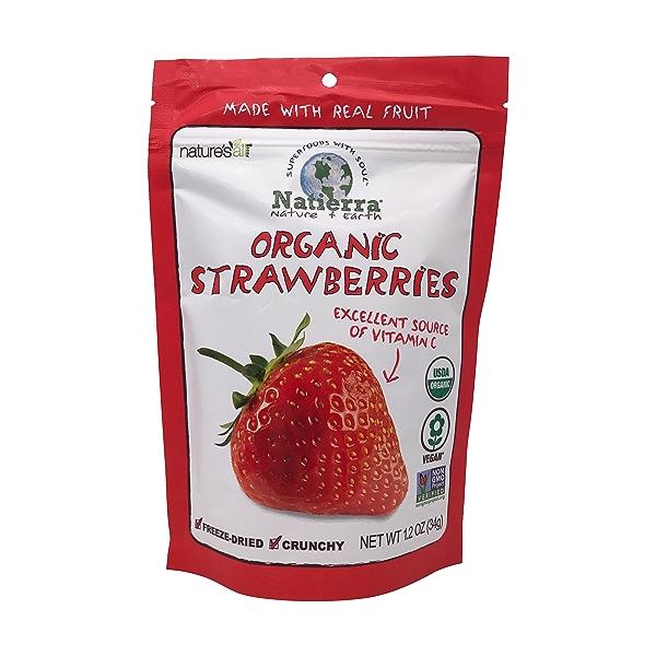 Organic Freeze Dried Strawberries, 1 each 1