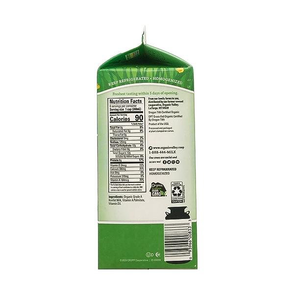 Organic Fat Free Milk 2