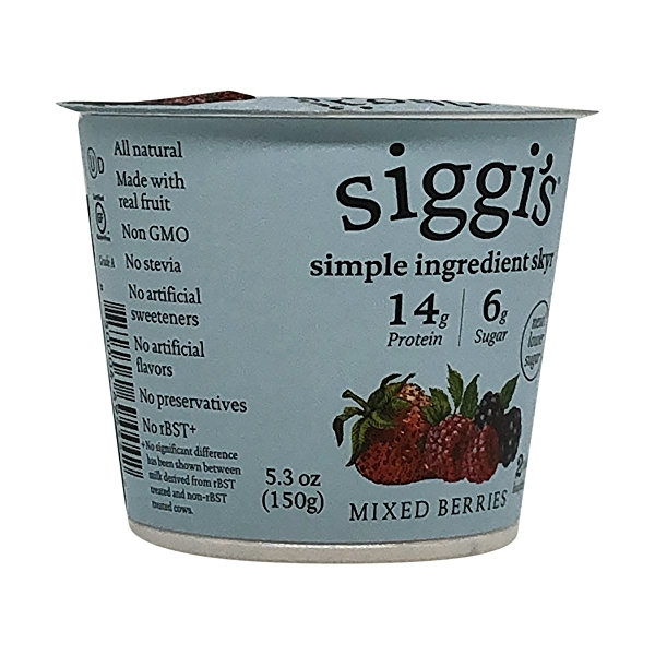Mixed Berries Plant Based Yogurt, 5.3 oz 8