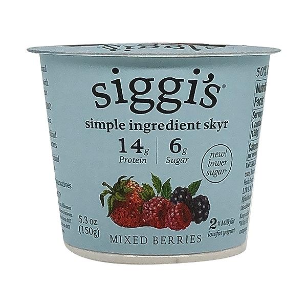 Mixed Berries Plant Based Yogurt, 5.3 oz 1