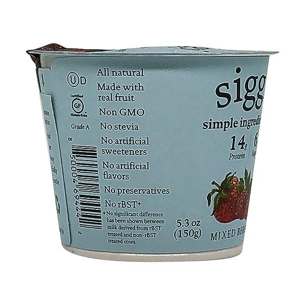 Mixed Berries Plant Based Yogurt, 5.3 oz 7