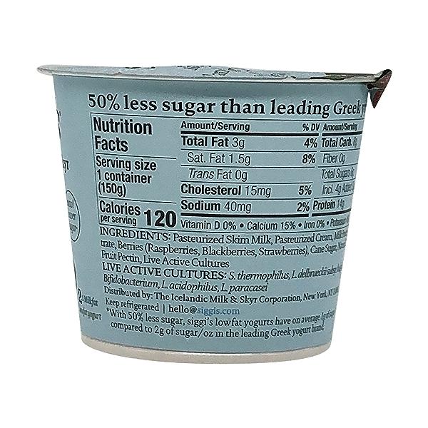 Mixed Berries Plant Based Yogurt, 5.3 oz 3