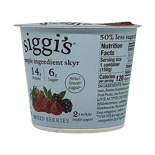 Mixed Berries Plant Based Yogurt, 5.3 oz 2