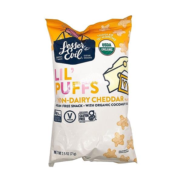 No Cheese Lil Puffs, 2.5 oz 1