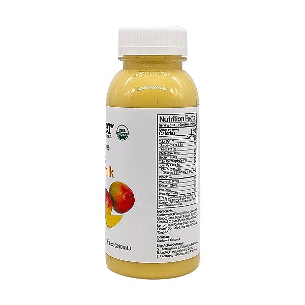 Mango Cashew Milk Kefir, 8 fl oz 3