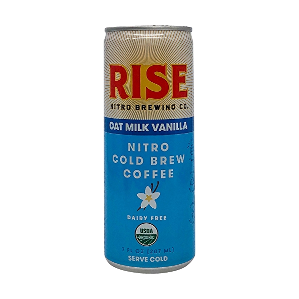 Organic Oat Milk Vanilla Latte Nitro Cold Brew Coffee 1