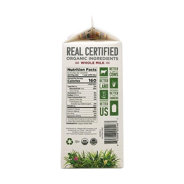 Organic Whole Milk 2