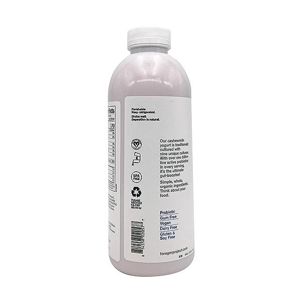 Organic Dairy-Free Blueberry Probiotic Drinkable Cashewmilk Yogurt, 28 fl oz 7