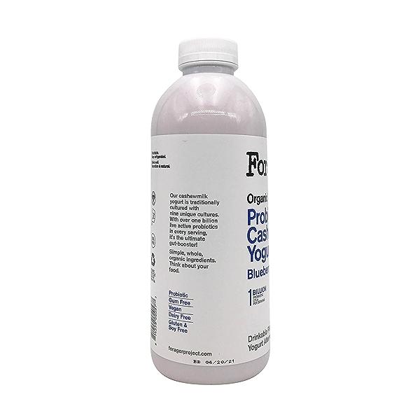 Organic Dairy-Free Blueberry Probiotic Drinkable Cashewmilk Yogurt, 28 fl oz 8