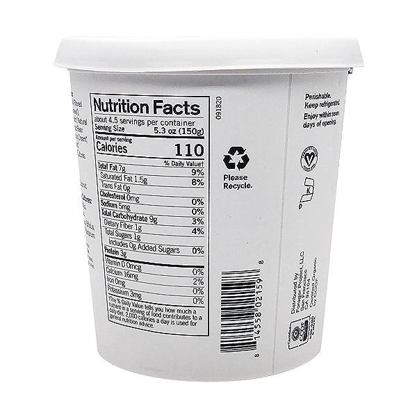 Organic Unsweetened Vanilla Bean Cashewmilk Yogurt, 24 oz 5