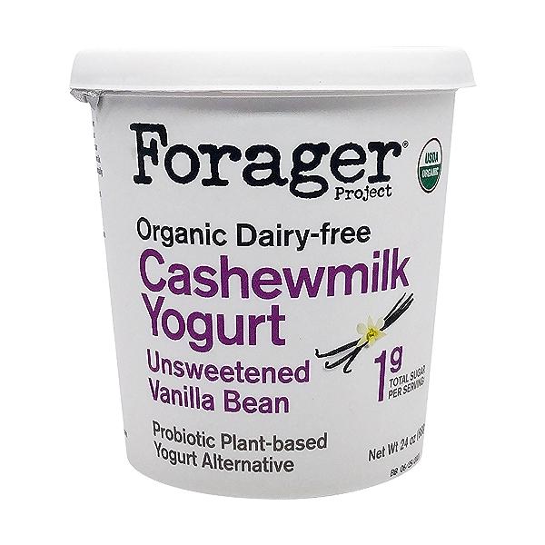 Organic Unsweetened Vanilla Bean Cashewmilk Yogurt, 24 oz 1