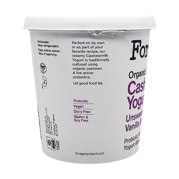 Organic Unsweetened Vanilla Bean Cashewmilk Yogurt, 24 oz 7