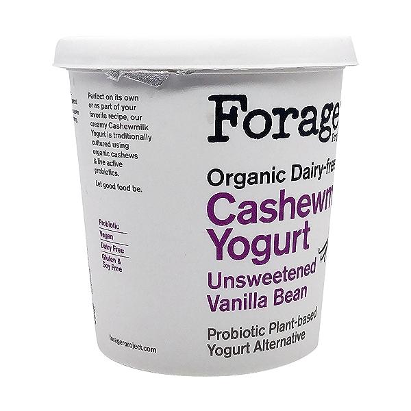 Organic Unsweetened Vanilla Bean Cashewmilk Yogurt, 24 oz 8